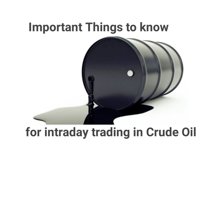 Crude Oil intraday trading strategy Tradvantage